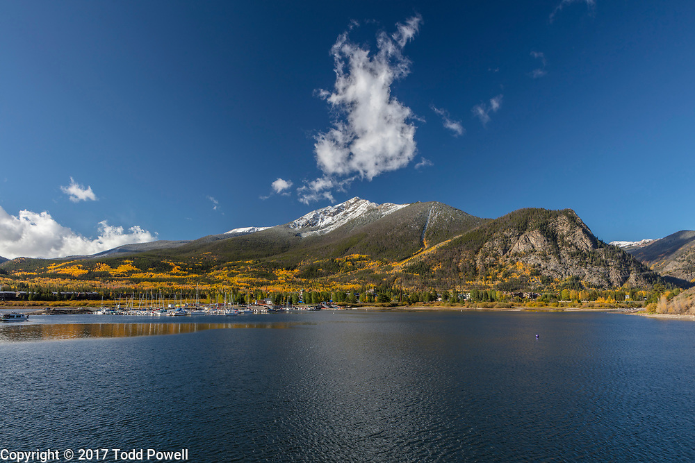 Frisco Marina on Lake Dillon, Frisco, Colorado, Fall