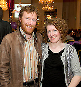 Andrew And Anna Downes at the launch of the  hopefully Xmas number 1 single Tiny Dancer by a host of Irish singers ( Mary Black, Paddy Casey, John Spillane to mention just a few) and AIMS members at Hotel Meyrick in aid of the Lily Mae Trust. Picture:Paul Mansfield..Photo issued with compliments, no reproduction fee..
