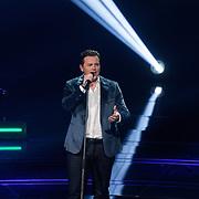 NLD/Hilversum/20190201- TVOH 2019 1e liveshow, optreden Quido van de Graaf