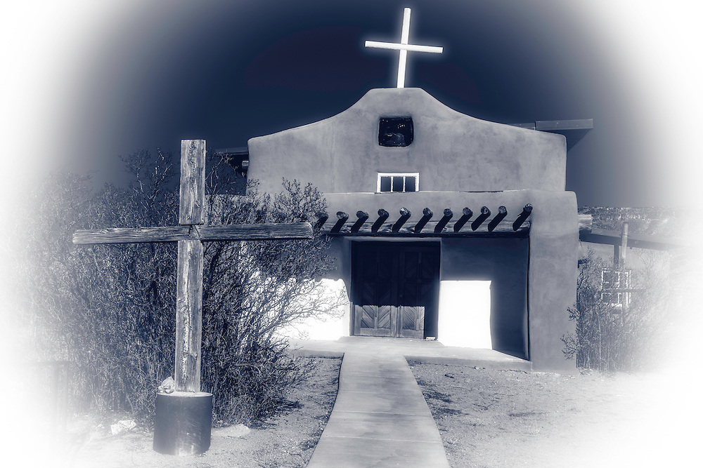 A church was built in the village circa 1837 as part of Spanish missionary activities and was rebuilt in 1975/1976.
