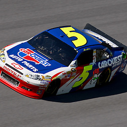 April 17, 2011; Talladega, AL, USA; NASCAR Sprint Cup Series driver Mark Martin (5) during the Aarons 499 at Talladega Superspeedway.   Mandatory Credit: Derick E. Hingle