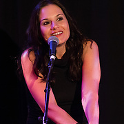 Kara Dioguardi performs in a Left Bank Cabaret show at The Music Hall Loft in Portsmouth, NH, August 1, 2014