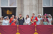 KATE, Harry & William At Trooping