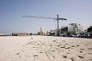 Dubai .development along the beach  north west of  Dubai