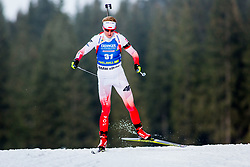 Magdalena Gwizdon (POL) during Women 15km Individual at day 5 of IBU Biathlon World Cup 2018/19 Pokljuka, on December 6, 2018 in Rudno polje, Pokljuka, Pokljuka, Slovenia. Photo by Ziga Zupan / Sportida