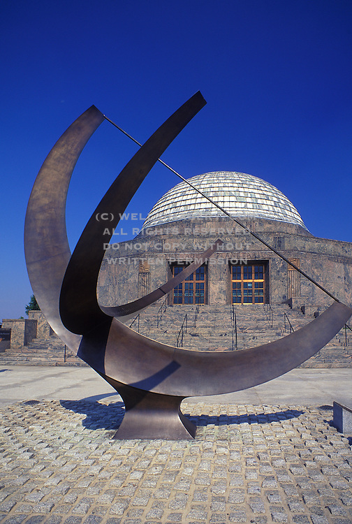 Image of the Adler Planetarium & Astronomy Museum in Chicago, Illinois, American Midwest