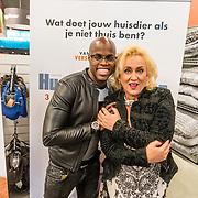 NLD/Amsterdam/20160603 - Onthulling stemmencast Huisdiergeheimen, Jandino Asporaat