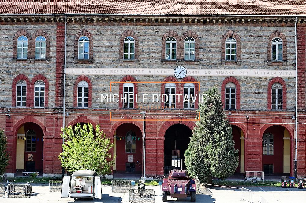 Torino, 2 maggio 2015<br /> ex Caserma La Marmora di via Asti