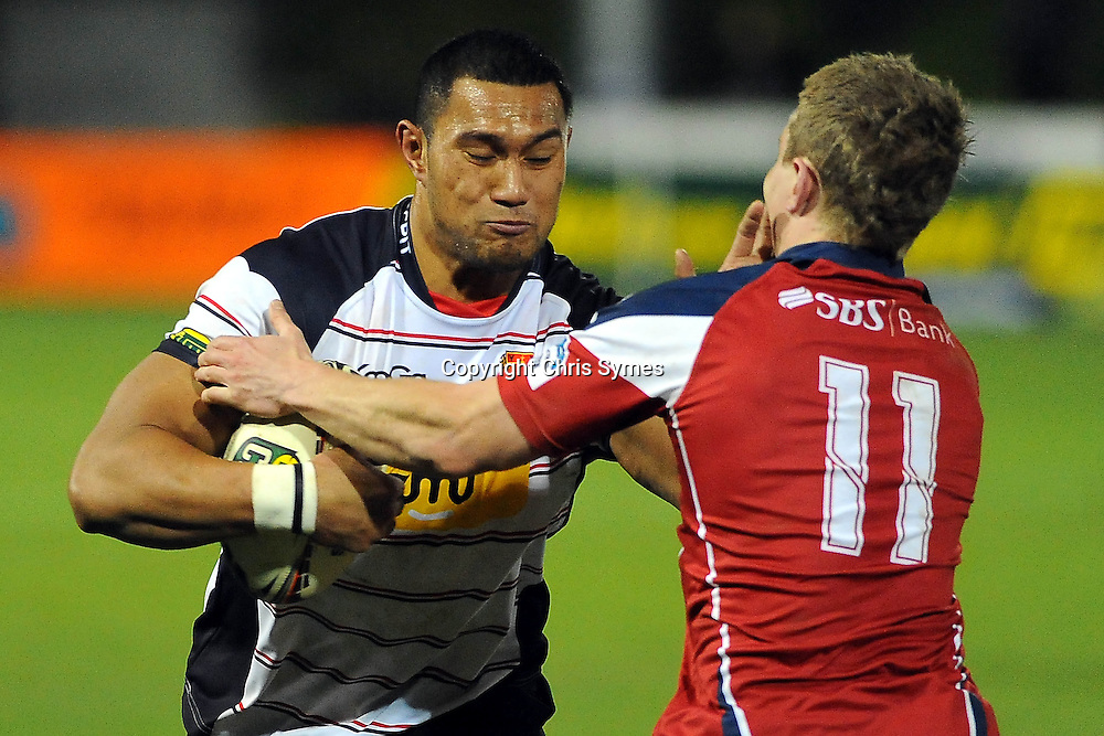 Canterbury player Robbie Fruean during the ITM Cup game Tasman Makos v Canterbury. Lansdowne Park, Blenheim, New Zealand. Friday 5 August 2011. Photo: Chris Symes/www.photosport.co.nz