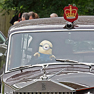 """Stuart The Minion"" - New Royal Chaffeur"