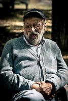 """Thomas E, 77 ans  """"Honneur et fidélité"""", la Légion n'abandonne jamais les siens, au combat comme dans la vie.""""L'IILE, bienvenue au dernier sanctuaire pour vieux légionnaires<br /> """"Honor and loyalty"""", the Legion don't abandon his own, in the combat or in the life.IILE*, welcome to the last sanctuary for old legionaries"""