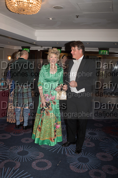 SHERI BANKER; ROBERT ADAMS, The Royal Caledonian Ball 2017, Grosvenor House, 29 April 2017
