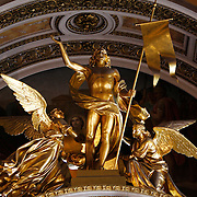 St Isaac's Cathedral, in Saint Petersburg,  is an architectural marvel. The cathedral built by French-born architect Auguste de Montferrand was to be the main church of the Russian Empire. The cathedral was under construction for 40 years (1818-1858)<br /> Photography by Jose More