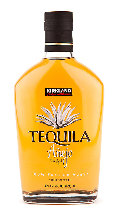 Kirkland Signature Añejo Tequila -- Image originally appeared in the Tequila Matchmaker: http://tequilamatchmaker.com