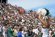 Thousands of fans fill Peden Stadium during the Bobcat's homecoming matchup against Bowling Green in Athens, Ohio on Saturday, October 8, 2016.