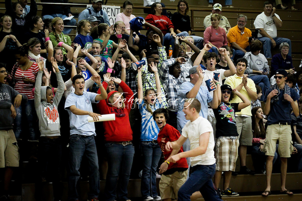 October/21/10:  MCHS Varsity Volleyball vs Strasburg.  Madison falls to the Rams 3-2.