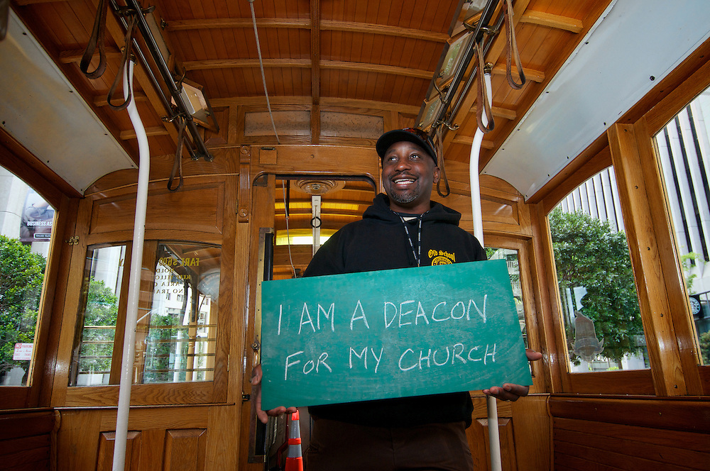 Calvin Watts, Cable Car Division Conductor | I am a Deacon for my Church | I am Muni..