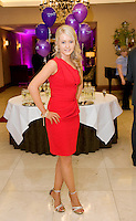 Nite organiser Aisling  Campbell from Tubbercurry,  at the Take Me Out for Cancer Care West in the Sathill Hotel, Galway . Photo:Andrew Downes.