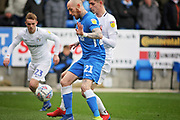 Peterborough Utd forward Marcus Maddison (21) during the EFL Sky Bet League 1 match between Peterborough United and Coventry City at London Road, Peterborough, England on 16 March 2019.