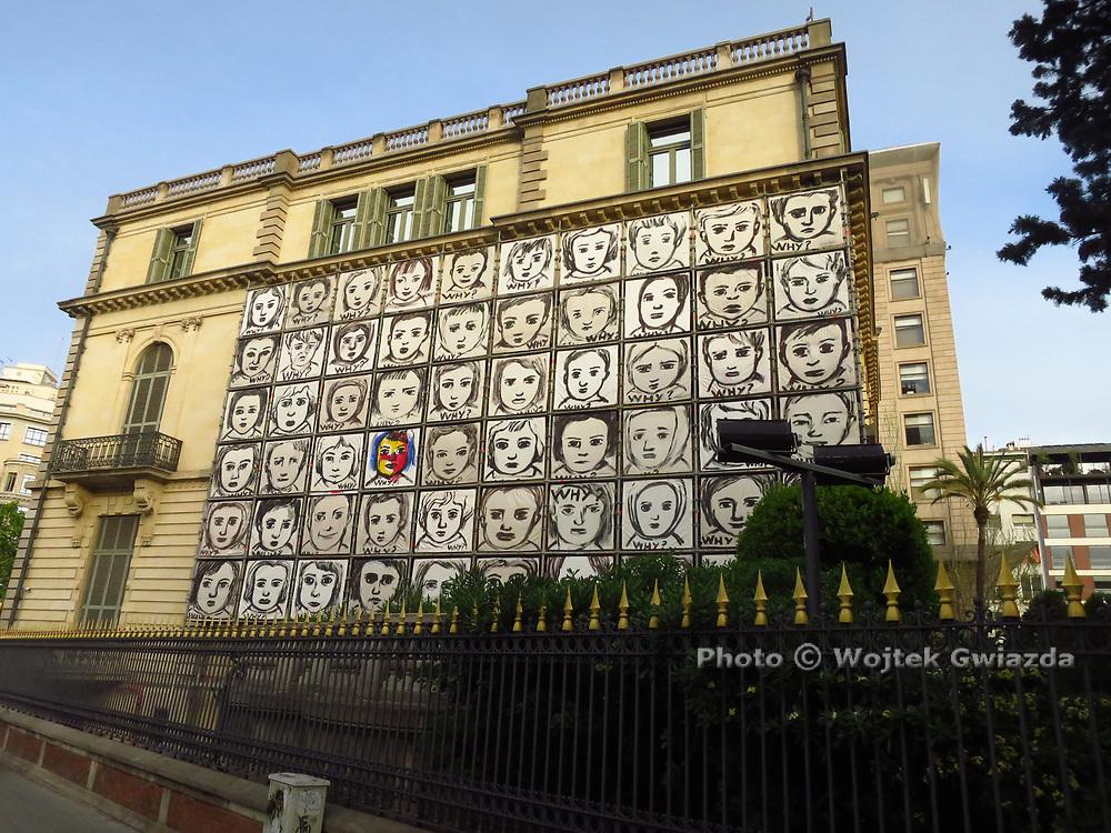 Art everywhere in Barcelona