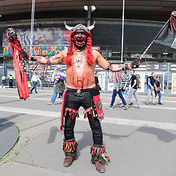 A Toulon fan outside the stadium before the the Top 14 Final between RC Toulon and Clermont Auvergne  at Stade de France on June 4, 2017 in Paris, France. (Photo by Dave Winter/Icon Sport)