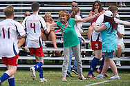 Unified Football match between SO Great Britain and SO  Austria during sixth day of the Special Olympics World Games Los Angeles 2015 on July 30, 2015 at Balboa Park in Los Angeles, USA.<br /> <br /> USA, Los Angeles, July 30, 2015<br /> <br /> Picture also available in RAW (NEF) or TIFF format on special request.<br /> <br /> For editorial use only. Any commercial or promotional use requires permission.<br /> <br /> Adam Nurkiewicz declares that he has no rights to the image of people at the photographs of his authorship.<br /> <br /> Mandatory credit:<br /> Photo by © Adam Nurkiewicz / Mediasport