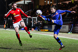 Rochdale's Thomas Kennedy controls the ball - Photo mandatory by-line: Matt McNulty/JMP - Mobile: 07966 386802 - 03/03/2015 - SPORT - football - Rochdale - Spotland Stadium - Rochdale v Crewe Alexandra - Sky Bet League One
