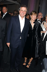 VISCOUNT & VISCOUNTESS ASTOR at the Conservative Party's Black & White Ball held at Old Billingsgate, 16 Lower Thames Street, London EC3 on 8th February 2006.<br />