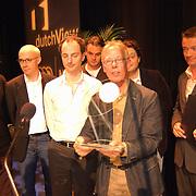 Uitreiking Nipkowschijf 2003, Spijkers met Koppen, Owen Schumacher, Thomas van Luyn, Jack Spijkerman en Paul Groot