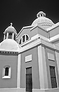 The cathedral in Guayama - architectural detail