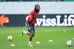 04.03.2014, AFG Arena, St. Gallen, SUI, Training der Schweizer Nationalmannschaft, vor dem Testspiel gegen Kroatien, im Bild Gelson Fernandes (SUI) // during a practice session of swiss national football team prior to the international frindley against Croatia at the AFG Arena in St. Gallen, Switzerland on 2014/03/04. EXPA Pictures © 2014, PhotoCredit: EXPA/ Freshfocus/ Claudia Minder<br /> <br /> *****ATTENTION - for AUT, SLO, CRO, SRB, BIH, MAZ only*****