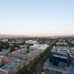 Aerial View of San Jose, California, USA
