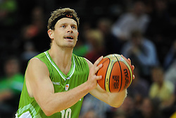 Miha Zupan of Slovenia during friendly match between National Teams of Slovenia and New Zealand before World Championship Spain 2014 on August 16, 2014 in Kaunas, Lithuania. Photo by Vid Ponikvar / Sportida.com