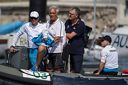 Bruno Jourdren, Eric Flaguel, Nicolas Vimont-Vicary, Equipe Sonar, Voile at Rio 2016 Paralympic Games, Brazil