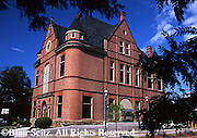 Restored Historic Site, Van Dyne Civic Building, now bank, Route 6, Troy, Bradford Co., NE PA