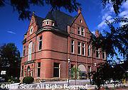 Restored Historic Site, Van Dyne Civic Building, now bank, Route 6, Troy, Bradford Co., NE PA
