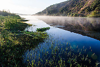 Breede River at Dawn in the Bontebok National Park, Western Cape, South Africa