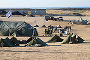 Israeli women serving in the IDF spend a week in the field in tents. Photography by Debbie ZImelman, Modiin, Israel