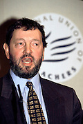 David Blunkett MP (Sheffield Brightside) speaking at the National Union of Teachers Conference..© Martin Jenkinson tel 0114 258 6808  mobile 07831 189363 email martin@rpressphotos.co.uk  NUJ recommended terms & conditions apply. Copyright Designs & Patents Act 1988. Moral rights asserted credit required. No part of this photo to be stored, reproduced, manipulated or transmitted by any means without prior written permission.