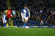 Blackburn Rovers midfielder, Ben Marshall (10) during the Sky Bet Championship match between Blackburn Rovers and Birmingham City at Ewood Park, Blackburn, England on 8 March 2016. Photo by Pete Burns.