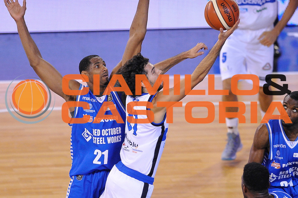 Michele Vitali<br /> Germani Basket Brescia - Red October Cantu'<br /> LegaBasket 2016/2017<br /> Brescia 09/10/2016<br /> Foto Ciamillo-Castoria