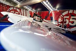 26.10.2014, Red Bull Ring, Spielberg, AUT, Red Bull Air Race, Renntag, im Bild feature Flugzeug von Paul Bonhomme, (GBR) // during the Red Bull Air Race Championships 2014 at the Red Bull Ring in Spielberg, Austria, 2014/10/26, EXPA Pictures © 2014, PhotoCredit: EXPA/ M.Kuhnke