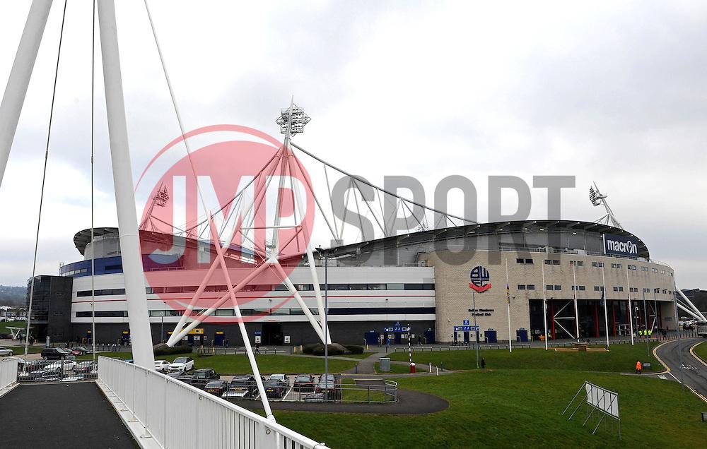 General View of The Macron Stadium - Photo mandatory by-line: Richard Martin-Roberts/JMP - Mobile: 07966 386802 - 14/03/2014 - SPORT - Football - Bolton - Macron Stadium - Bolton Wanderers v Millwall - Sky Bet Championship