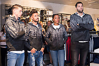 Fernando Torres, Chema Martinez, Ana Peleteiro and Felipe Reyes attends to presentation of new Athletics Z.N.E. Pulse by Adidas in Madrid, Spain September 28, 2017. (ALTERPHOTOS/Borja B.Hojas)