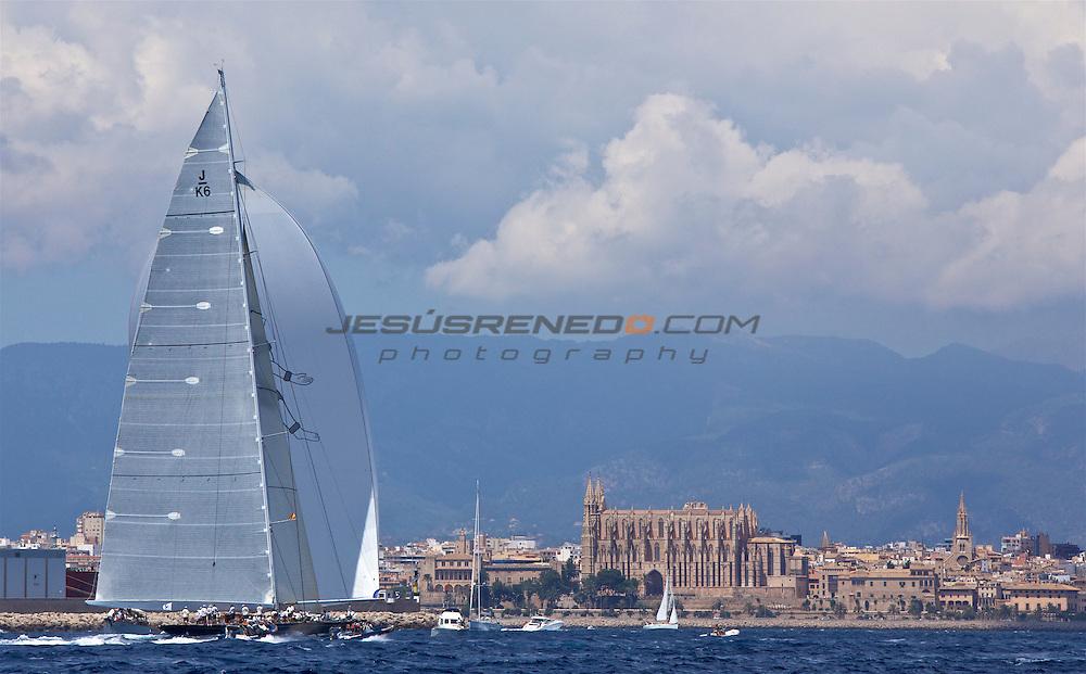 The SuperYacht Cup 2013, day 4  coastal race