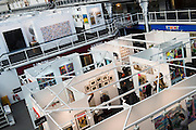 London Art Fair opens at the Business Design Centre, Islington, London.