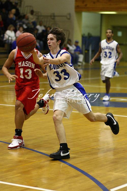 MCHS JV Boys Basketball.vs George Mason.1/11/2008.
