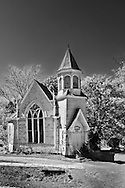 Old church waiting to be restored.