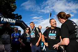 Jeff Stelling and his March for Men end Day 2 at the Memorial Stadium, home of Bristol Rovers. Jeff is stopping at 40 football grounds whilst walking 400 miles in 15 days to St James' Park Newcastle to raise money for Prostate Cancer UK - Rogan Thomson/JMP - 03/06/2017 - Memorial Stadium - Bristol, England.