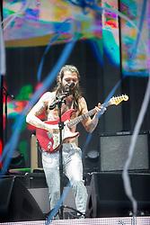 Biffy Clyro headline the main stage on Sunday at the TRNSMT music festival, Glasgow Green.